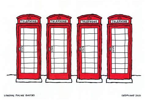 How To Draw A Telephone Booth