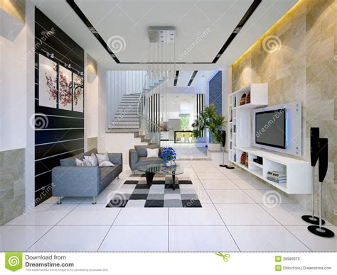 imagenes chidas modernas interior de una casa moderna con la sala de estar imagen