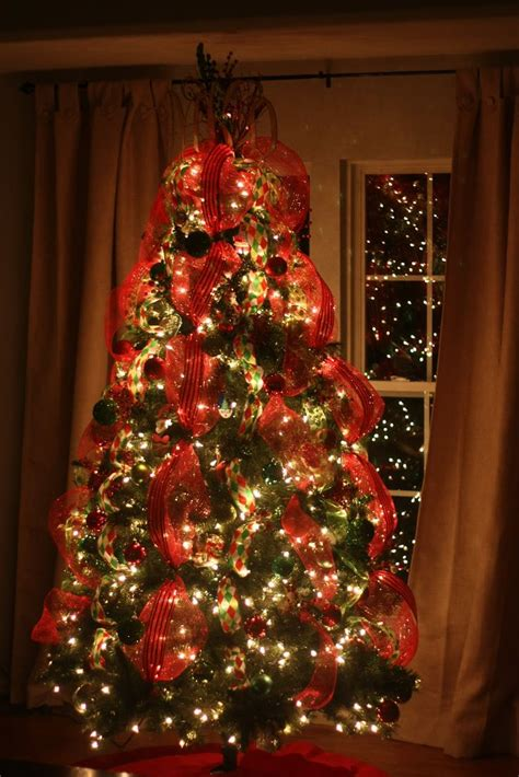 ribbon on a christmas tree pictures tree decorated with ribbons our tree topper this year simple southern and a
