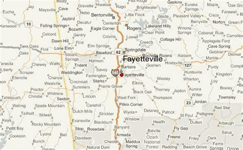us map fayetteville arkansas fayetteville arkansas location guide