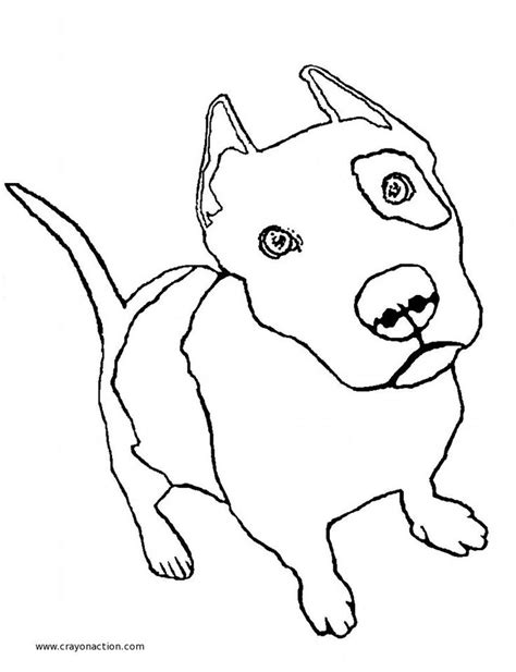 coloring pages pitbull puppies 17 best images about pit bull color pages on pinterest