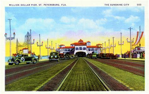 St Petersburg Fl Court Records Florida Memory Million Dollar Pier Petersburg Florida