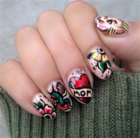 nail tattoos nail trends nails magazine