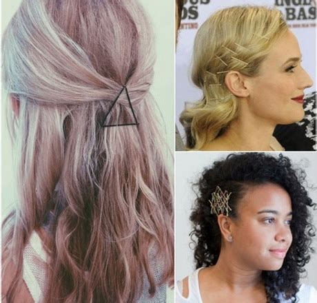 hairstyles for straight hair with bobby pins hairstyles using bobby pins
