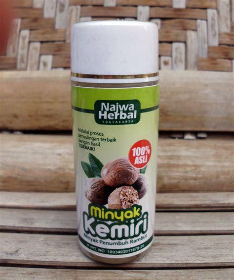 Minyak Kemiri Najwa Herbal minyak kemiri najwa herbal toko almishbah1 toko