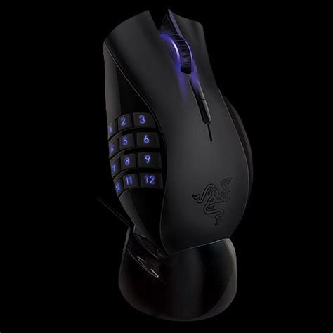 Mouse Razer Naga Epic razer naga mmo gaming mouse goes wireless tech ticker