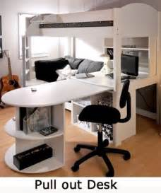 Bunk Bed With Sofa And Desk Best 25 Pull Out Bed Ideas On