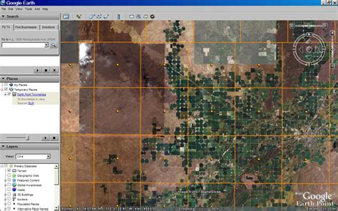 sections in a township earth point blog quarter sections available with blm data