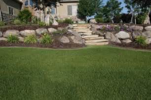 Backyard Slope Landscaping Ideas Backyard Landscape Pictures And Find