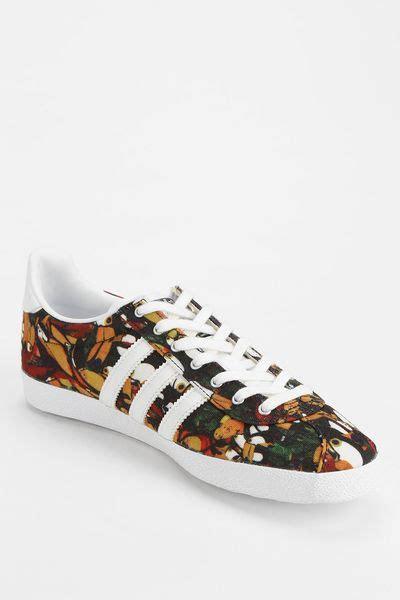 adidas floral sneakers adidas gazelle floral farm sneaker in multicolor silver