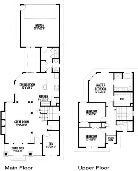 30 ft wide house plans house plans the morgan cedar homes