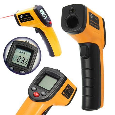 Thermometer Infrared Digital Non Contact Diskon aliexpress buy non contact ir infrared thermometer