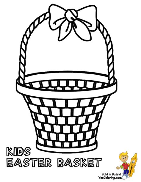 coloring pages for easter basket handsome easter basket coloring pages free easter