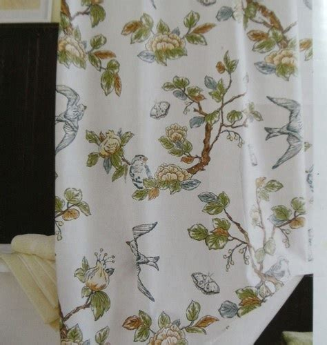 threshold bird shower curtain home threshold target botanical blue bird shower curtain