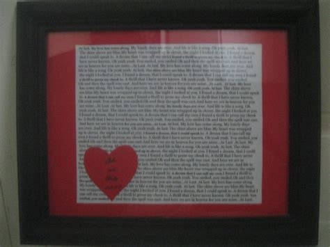 Wedding Song Framed by Framed Wedding Song Lyrics Thriftyfun