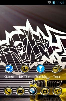 android themes bmw bmw android theme for clauncher androidlooks com