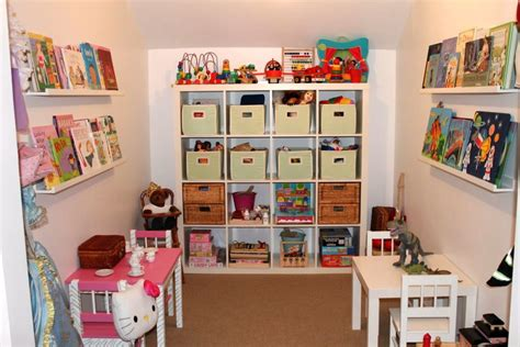 small playroom ideas kids playroom design ideas with smart shelving for small space