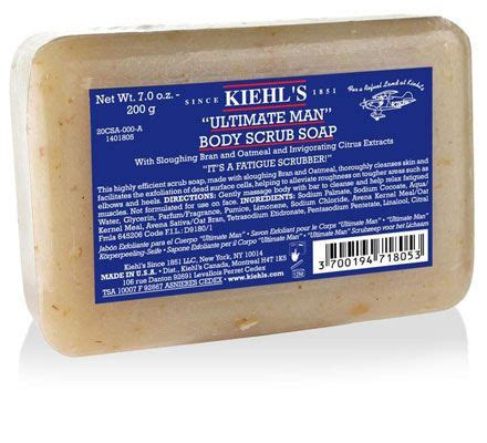 why a man would receive scrub soap as a gift kiehl s quot ultimate quot scrub soap scrubs and bodies