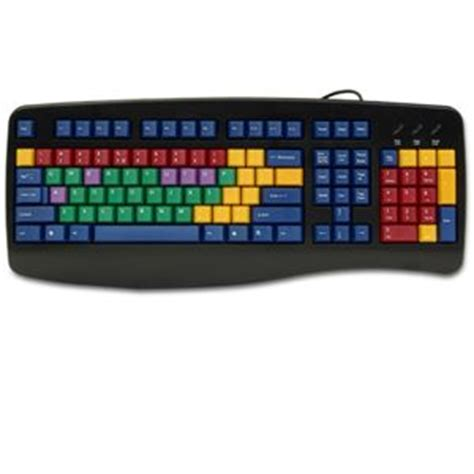 color coded keyboard buy the learningboard lb2b color coded computer keyboard
