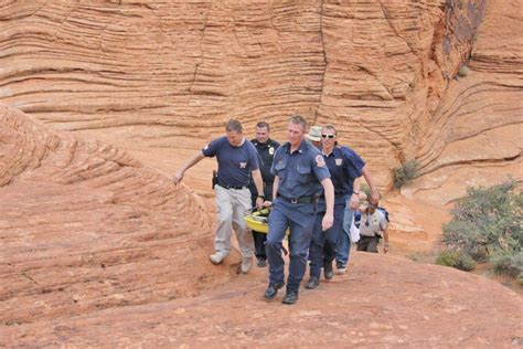 rescue utah ivins rescue assists injured tourist in snow st george news