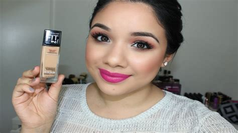 me smooth review maybelline fit me foundation dewy smooth review and demo