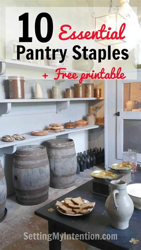 kitchen items pantry essentials food items you should always have in our 10 essential pantry staples