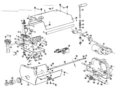 Craftsman Garage Door Opener Parts Diagram Interior View Of Operator Diagram Parts List For Model 139658581 Craftsman Parts Garage Door
