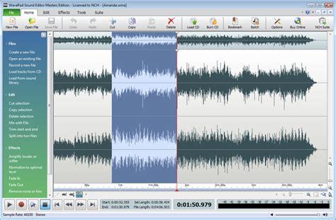 tutorial wavepad wavepad audio editing software video tutorials tips and