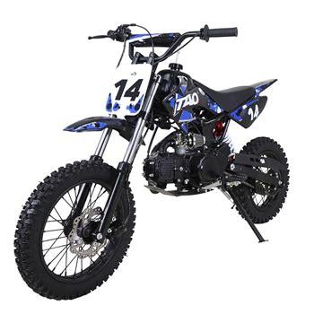 Blus Sp 110 12 tao tao 110cc dirt bike