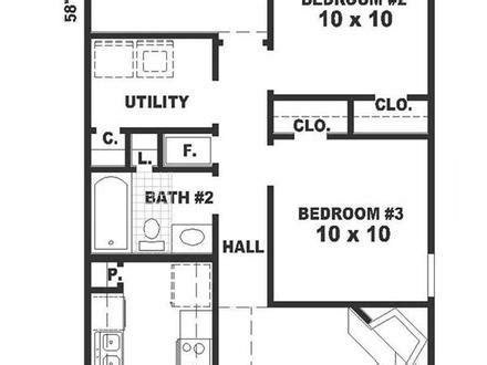 long narrow apartment floor plans lot narrow plan bungalow house bungalow narrow lot house