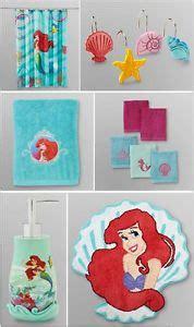the little mermaid bathroom set mermaid shower curtain hooks nib bath pamela ferrari on