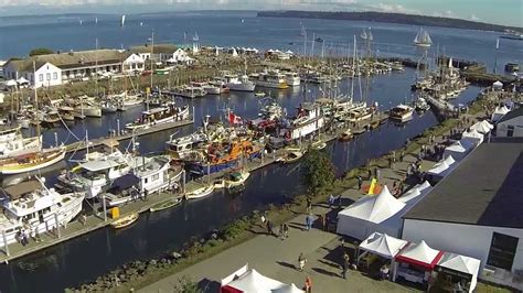 port townsend boat festival port townsend wooden boat festival 2013 aerial video youtube