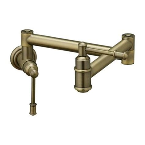 Elkay Faucets Parts by Elkay Lk4101rb Oldare Wall Mounted Pot Filler Faucet