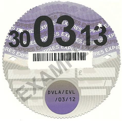 printable road tax disc no more car tax discs the car buying group blog