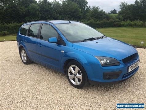 ford focus 2006 for sale 2006 ford focus zetec climate tdci for sale in the united