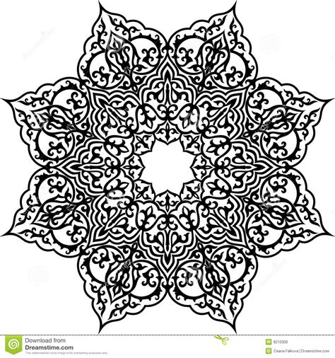 pattern islamic vector islam pattern royalty free stock image image 8210306