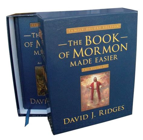 the book of mormon made easier set family deluxe edition