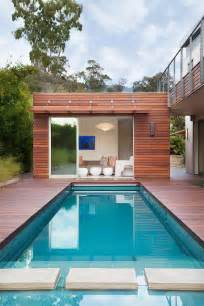 Small Pool House Enchanting Eco Friendly Home With Gorgeous View The