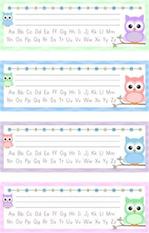 printable owl desk tags editable desk name tags type your students names right