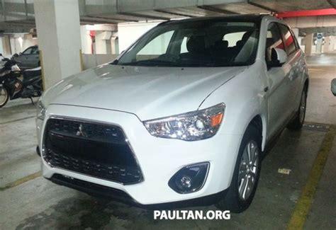 Mitsubishi Asx For Sale Malaysia Mitsubishi Asx Ckd Sighted 2wd And 4wd Variants