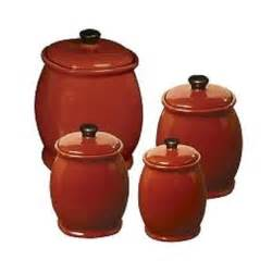 Red Kitchen Canisters Set Cheap Bath Canister Set Find Bath Canister Set Deals On