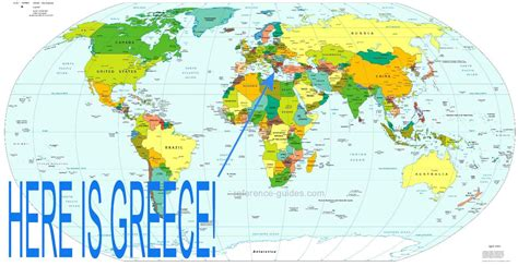greece on map international political review where is greece