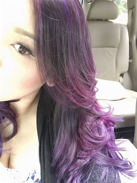 am i too old for ombre hair dsk steph purple ombre hair color