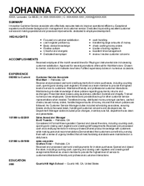 stron biz competitive resume sle