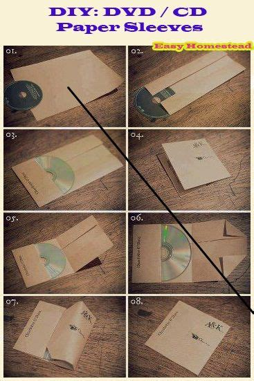 Cd Envelope Origami - how to make a cd sleeve from paper paper crafts