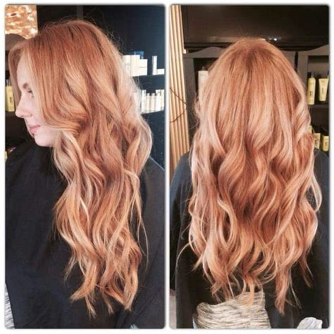 blonde and copper hairstyles 25 best ideas about copper blonde hair on pinterest