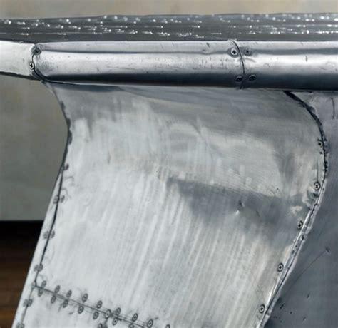 modern airplane wing desk from restoration hardware