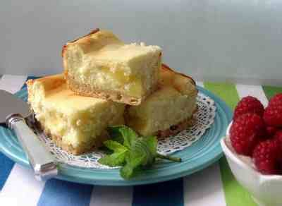 A Delicious Dessert Lemon Ripple Cheesecake by Lemon Ripple Cheesecake Bars Recipe Ihavenet