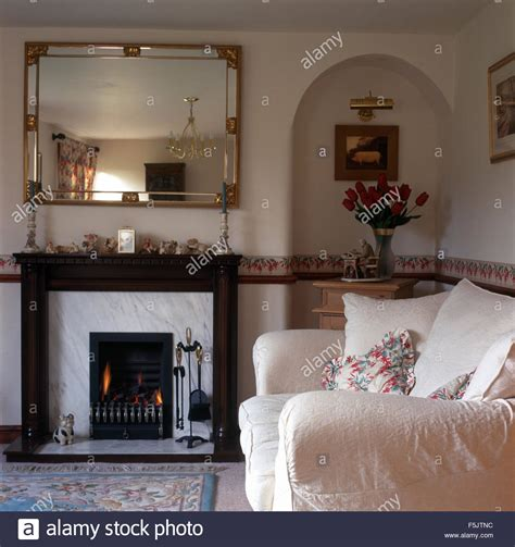 mirror fireplace gilt mirror above fireplace with lighted in a