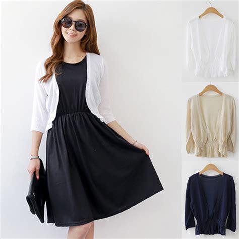 Dress With Cardigan 3 summer shrug cardigan for dresses korean shrugs cardigans shawl autumn three